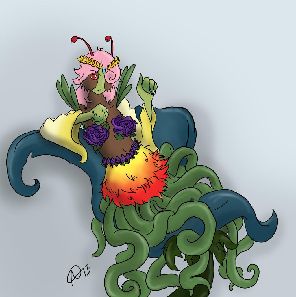 Plant queen commission