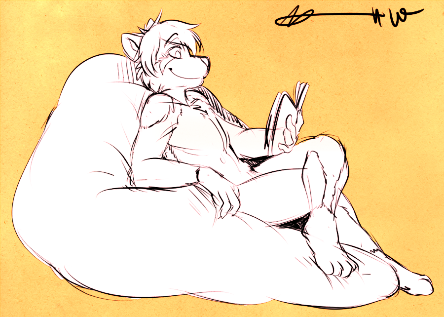 [Com] Nothing Like a Good Book! (by Cappuccino)