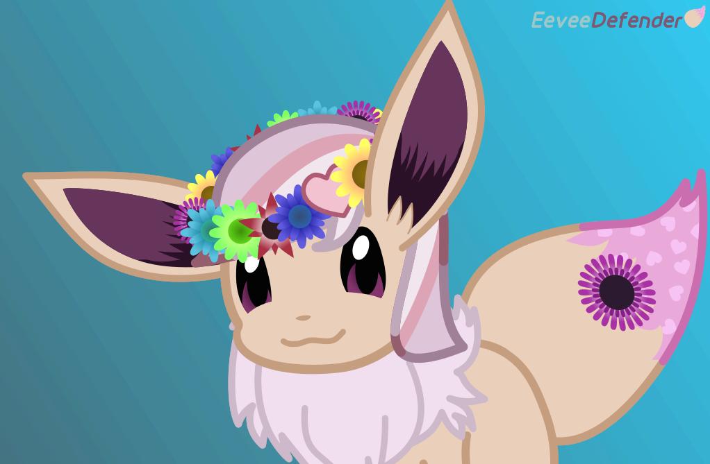 Eevee Flower Crown