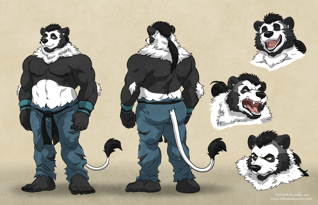 Most recent image: Pabo ref sheet