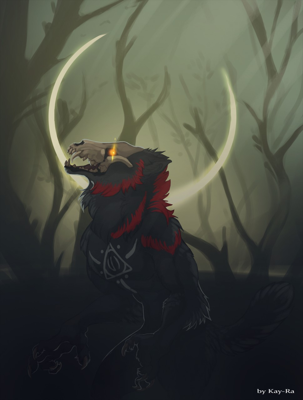The demon in the woods
