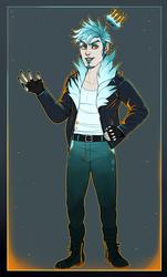 Ice Prince [Humanized Cinnadog] [COM]