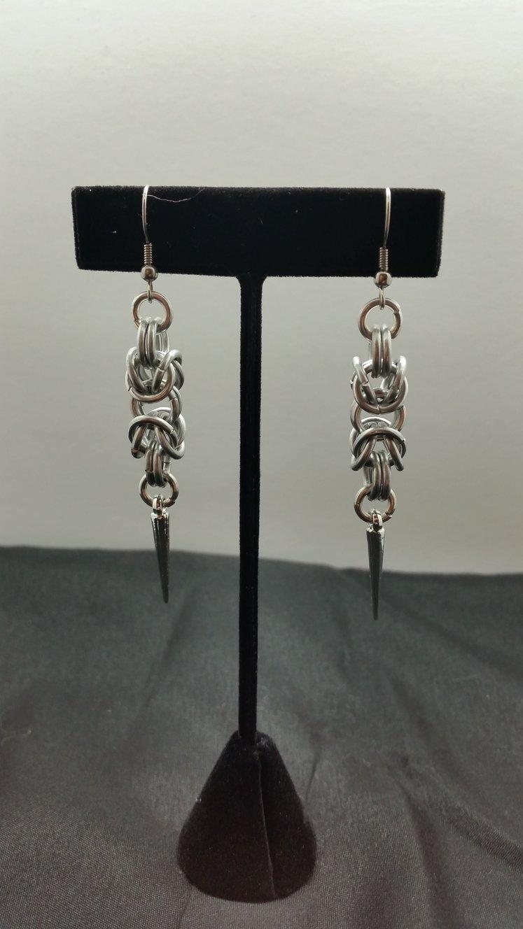 Byzantine Spike Earrings