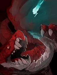Portfolio piece: Dragon