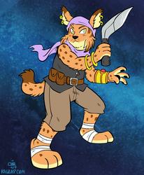 [Commission] Lynx Assassin