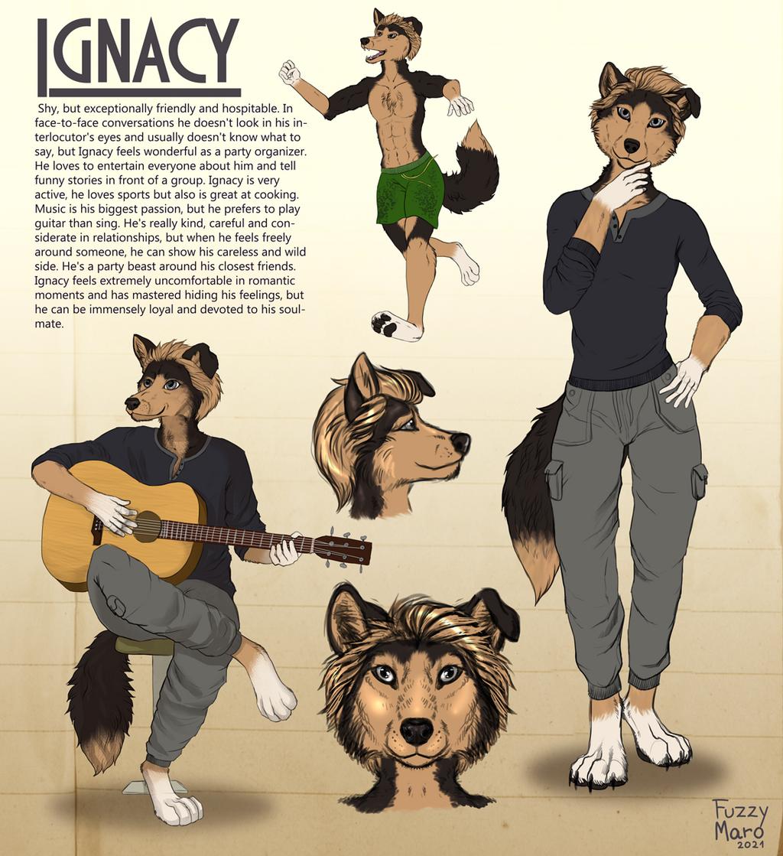 Sketch page: Ignacy
