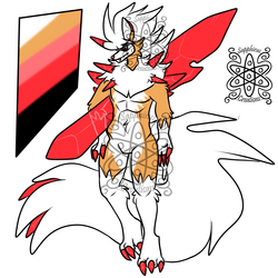 Corrupted Male Dusk Lycanroc (SOLD)