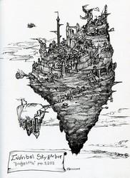Indribel Sky-Harbor (Inktober #22)