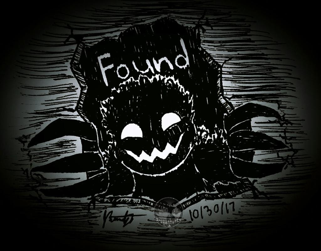 """Inktober 2017 - Day 30 """"Found"""""""