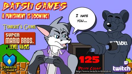 GAMING STREAM - Batsu Games part 2 with SMB Hacks