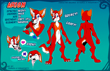 Arion Reference Sheet (Commission)