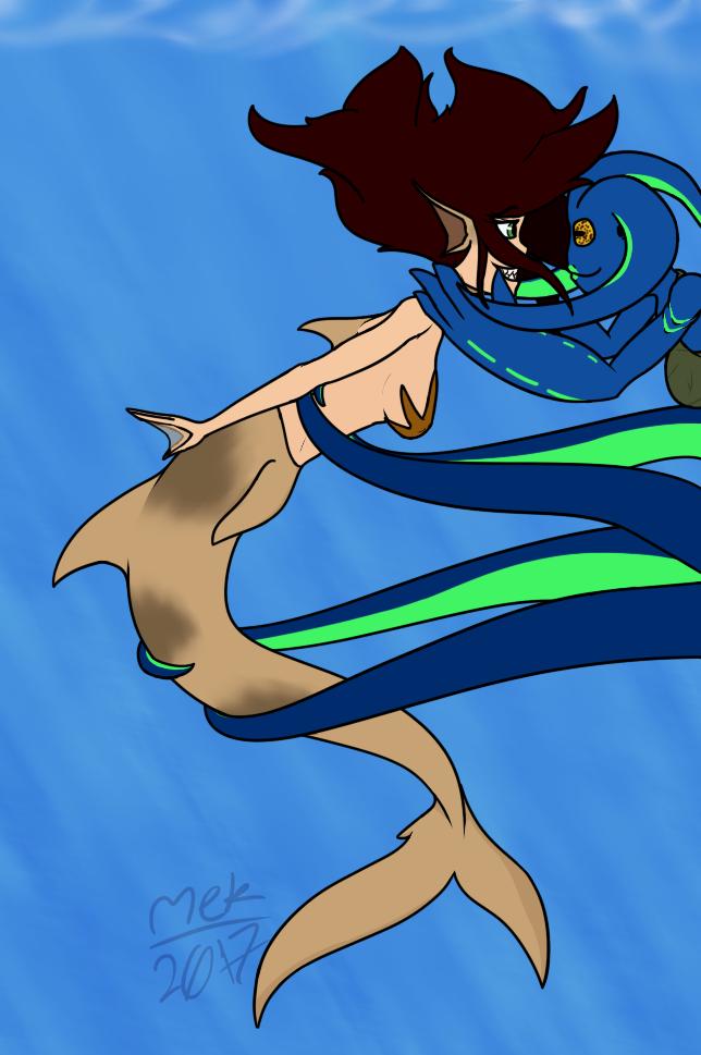 Most recent image: Monster Girls-Mermaid