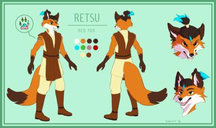 Retsu Ref Sheet