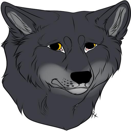 firstbornwolf sticker 1