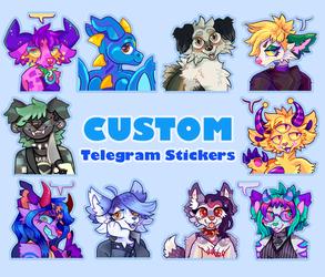 Custom Telegram Sticker Commissions