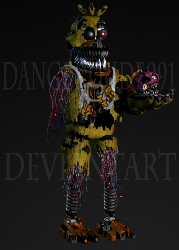 Withered Nightmare Chica