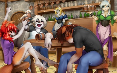 Tavern contest commission for Bornvictim