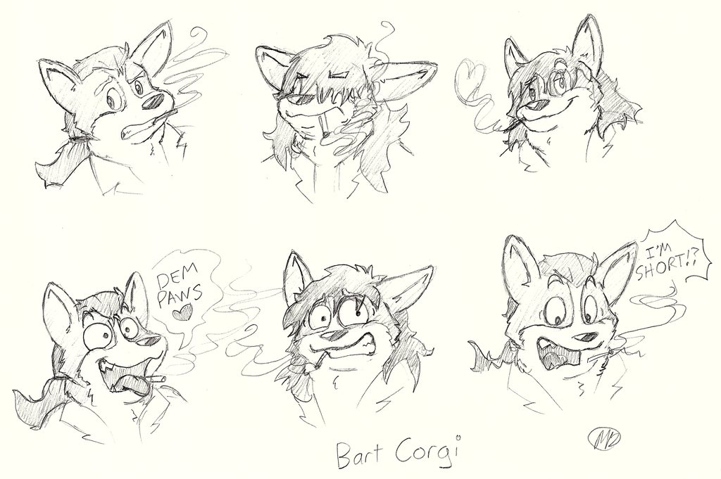 Most recent image: Even More Me Faces!