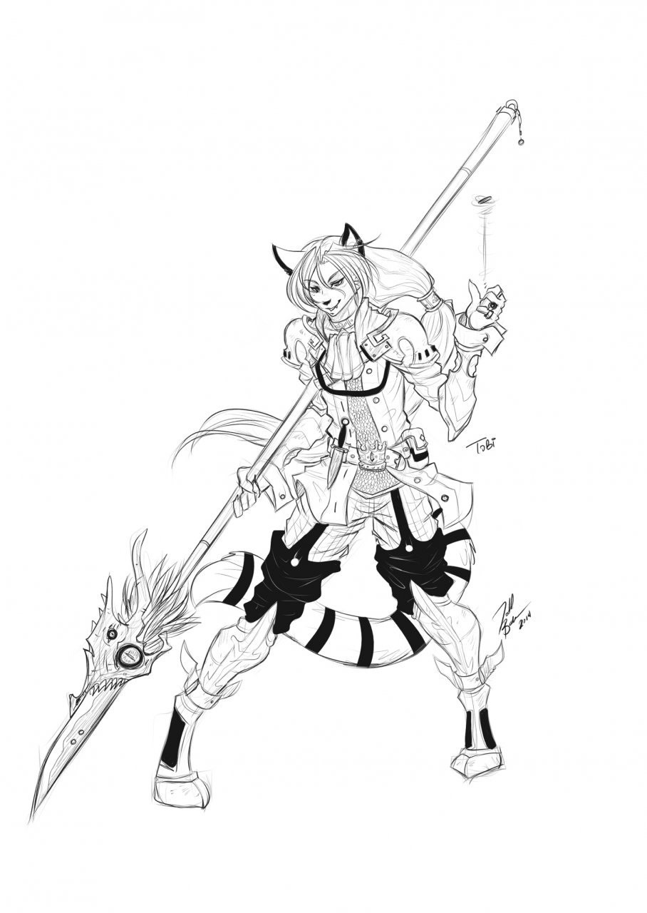 Dragoon Cat, here to lance your face.