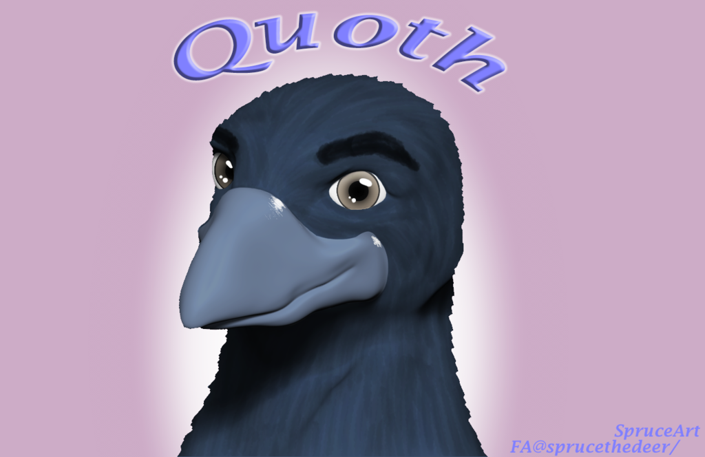 Quoth Portrait
