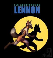 Lennon Tintin Style