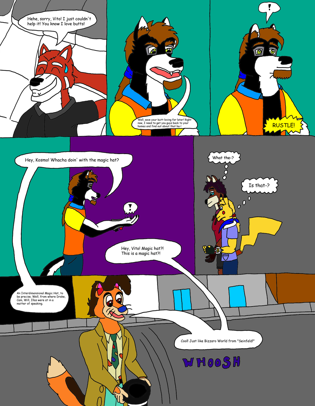 The Ginormous Misadventures (5/31)