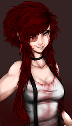 Bloody Red Head