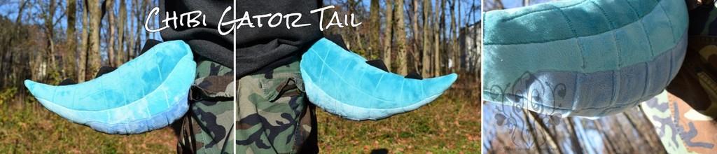 [//Gift] Chibi Gator Tail