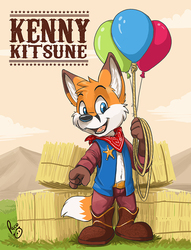 TFF badge: Kenny Kitsune