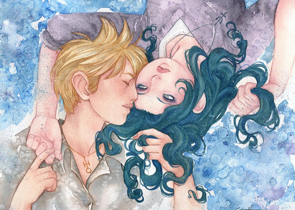 Commission - Liz - Haruka and Michiru