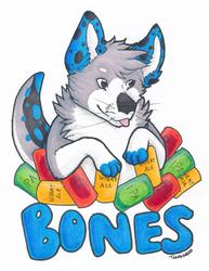 Bones Badge