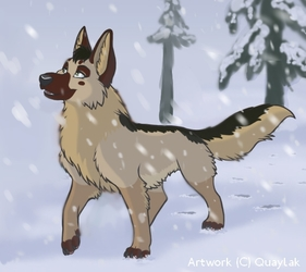 NOT MY ART - Snow