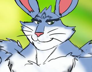 Buff Fantart Friday: Easter Bunny a.k.a. Bunnymund