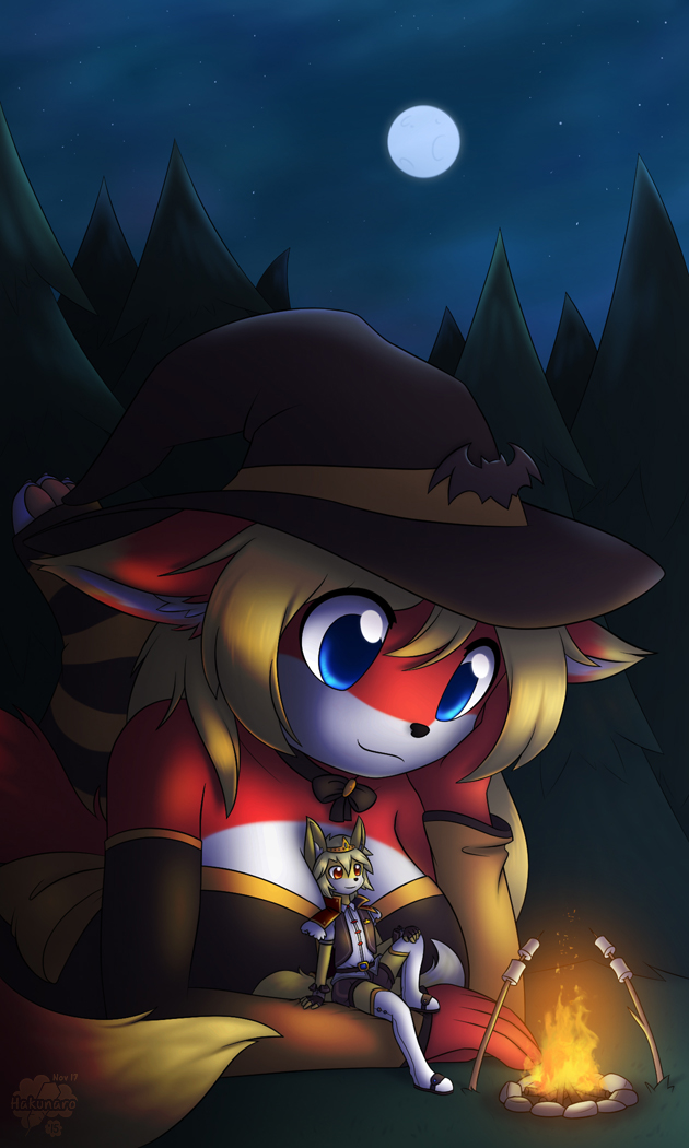 Commission: Campfire