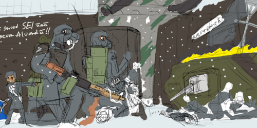 Ice and Iron (WIP)