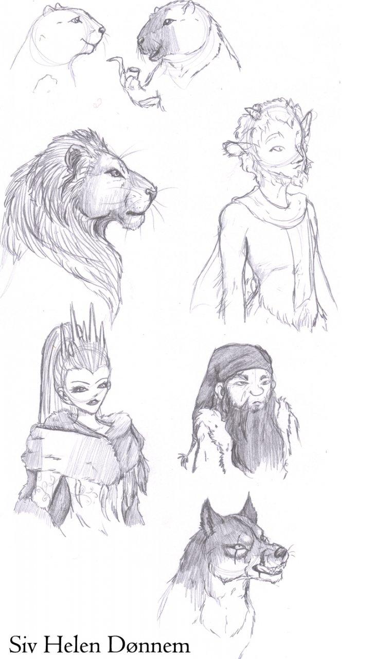Narnia sketches