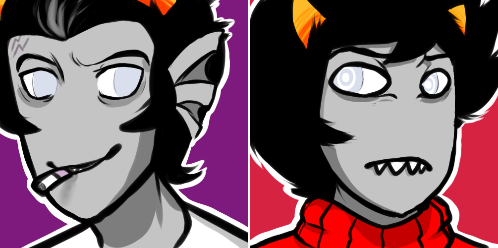 cronus and kankri icons weasyl