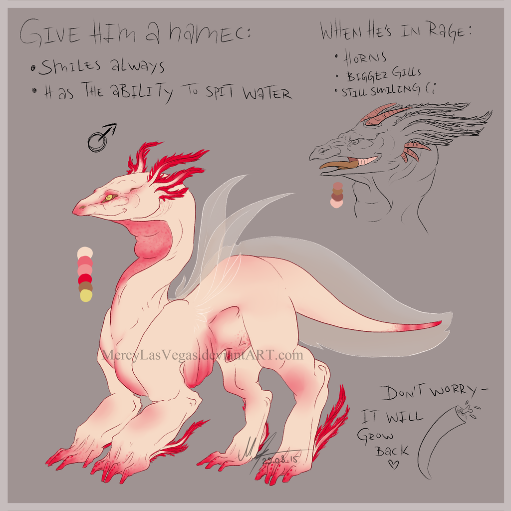 Axolotl Dragon Adoptable CLOSED