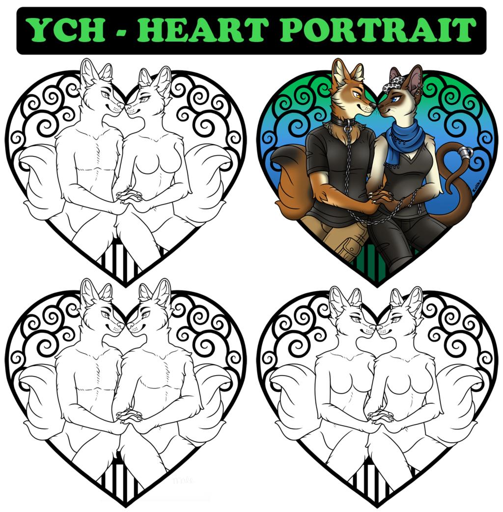 Heart Portrait (YCH)