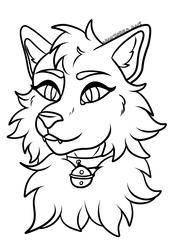 F2U Feline Lineart