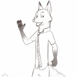 Fox be-fur bed