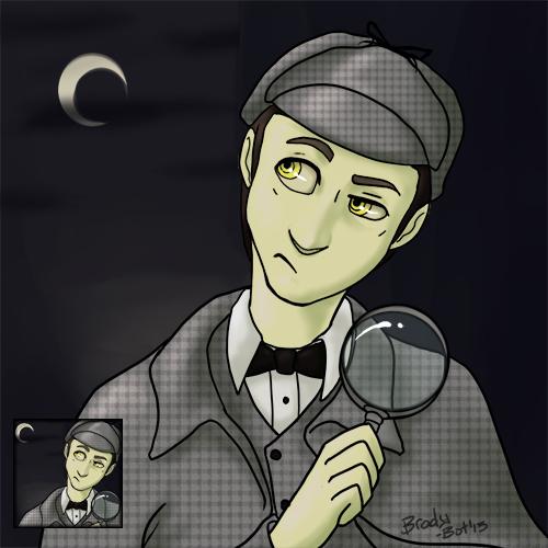 Sherlock Data Icon Commission