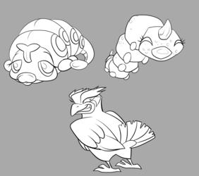 More Nuzlocke designs