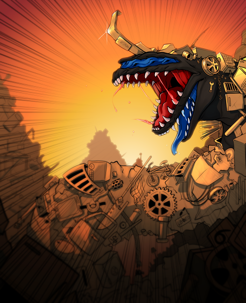 Most recent image: Scrapdragon