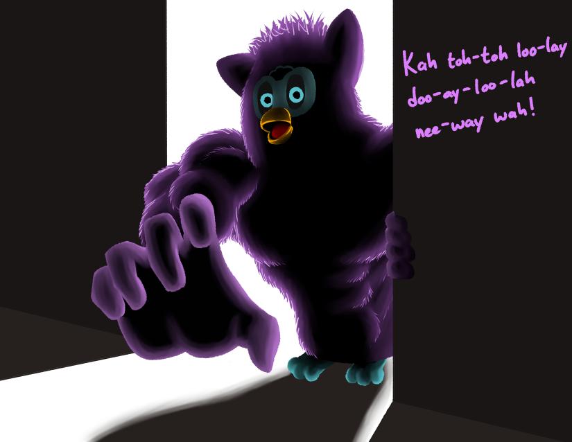 Most recent image: 210515 Furby prompt - FurBEEF