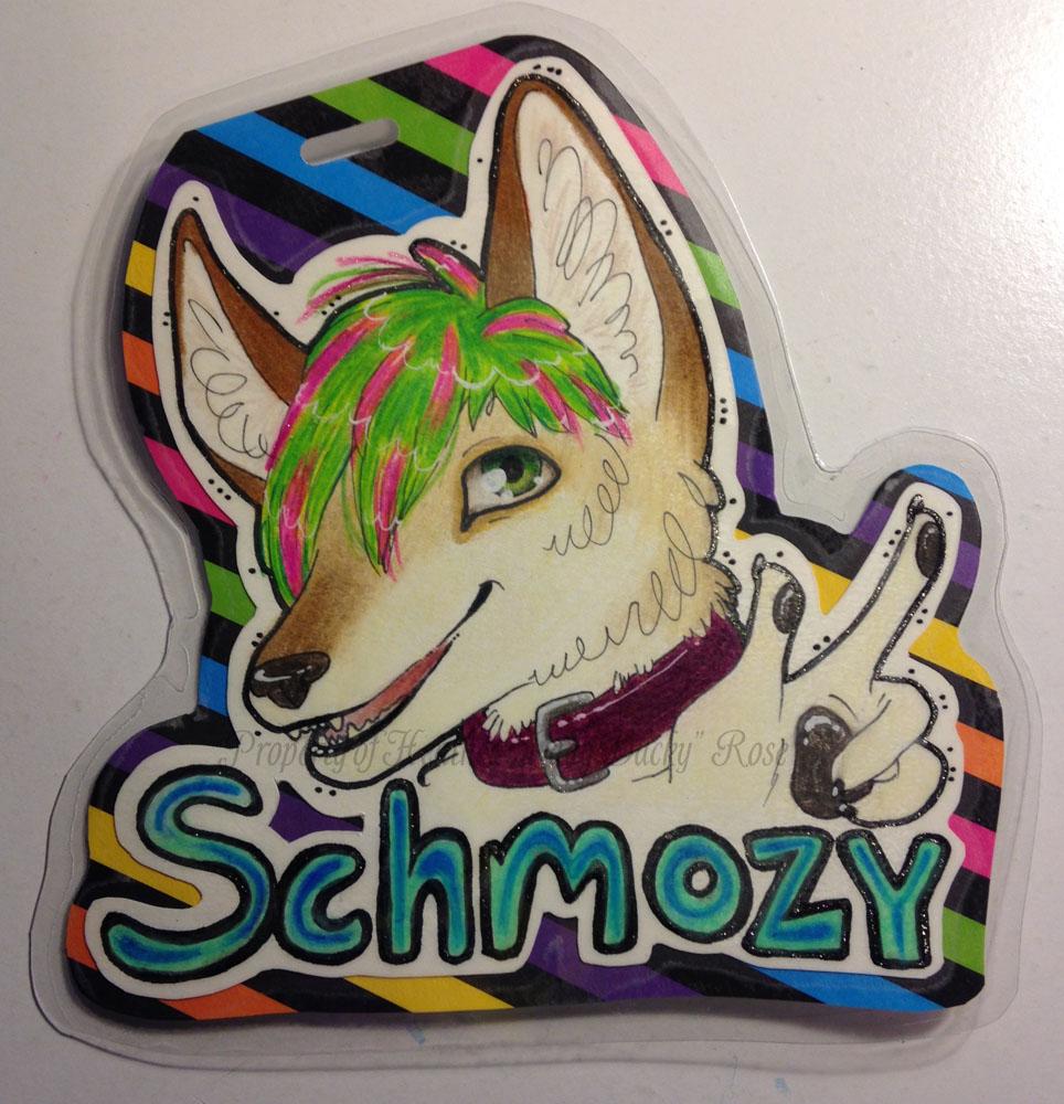 Commission: Schmozy Badge