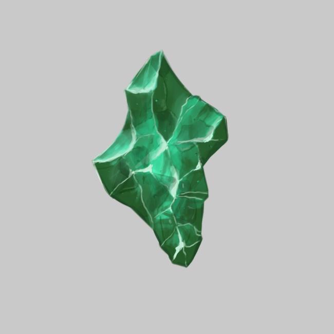 2019.02.26 - Green crystal