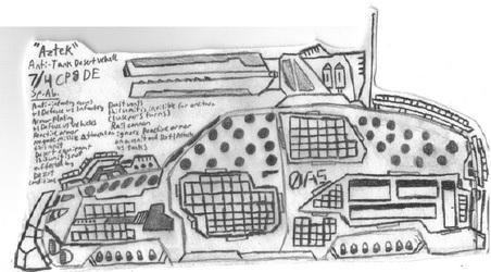 """DE Anti-Tank Vehicle """"Aztek"""""""