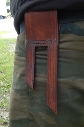 Leather Projects - Sword Frog Pt. 1