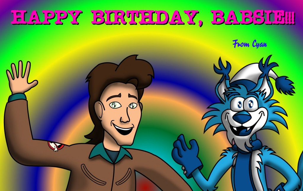 Birthday Pic for Babsiwuff